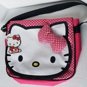 Hello kitty Messenger Canvas Bag